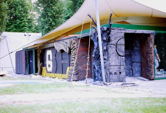 Experimenta 1995, padiglione scenografia ed effetti speciali, Villa Gualino, Torino  (2178 clic)