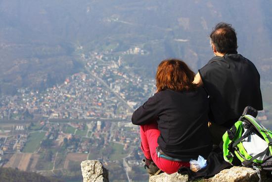 Osserando il panorama, Ornavasso visto dal monte Faiè - Mergozzo (2417 clic)