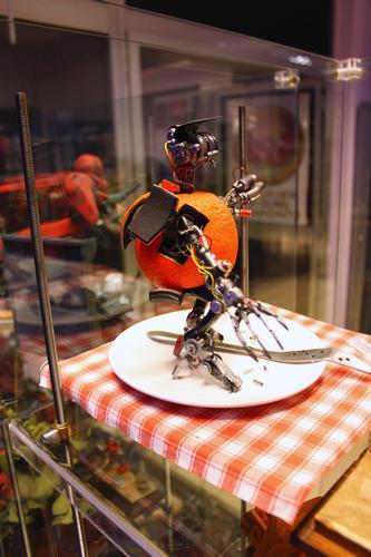 Clockwork orange, Arancia meccanica, Torino 2011 (1579 clic)