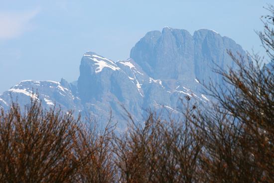 Il pizzo Pedum dal monte Faiè - Mergozzo (2188 clic)