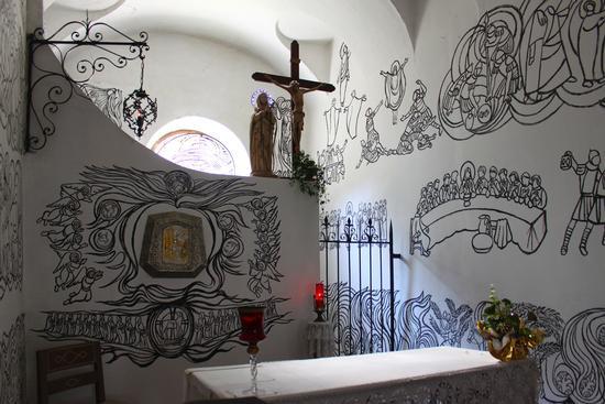 Cappelletta dipinta a Portula 1 | PORTULA | Fotografia di Marco Ferrari