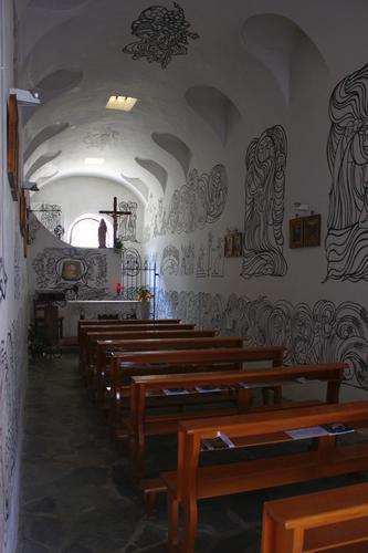 Cappelletta dipinta a Portula 2 - PORTULA - inserita il 18-Jul-11