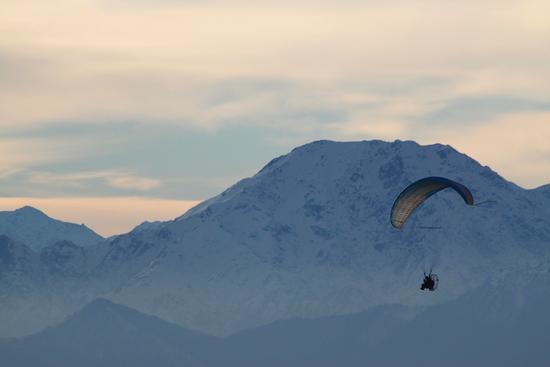 Volo a vela 2, Mottarone gennaio 2011 (2078 clic)