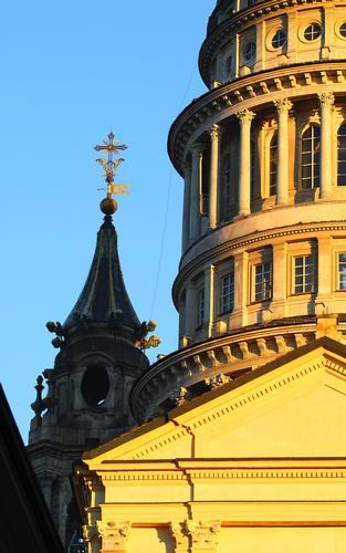 La cupola Antonelliana dettaglio 2, Basilica di San Gaudenzio, Novara dicembre 2010 (2053 clic)