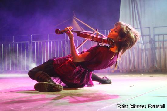 Lindsey Stirling a NovaAria 2012, Arona (1708 clic)