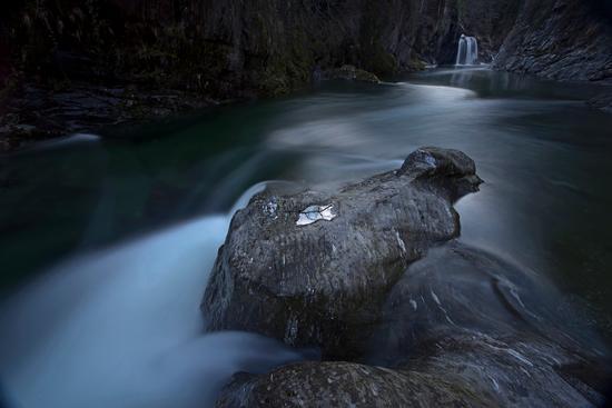 Cascata sul San Bernardino, Verbania (349 clic)