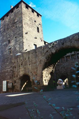 Porta Praetoria, Aosta (Augusta Praetoria Salassorum) agosto 1998  (2874 clic)