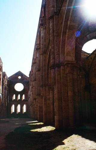 San Galgano, Siena agosto 1998 (1721 clic)