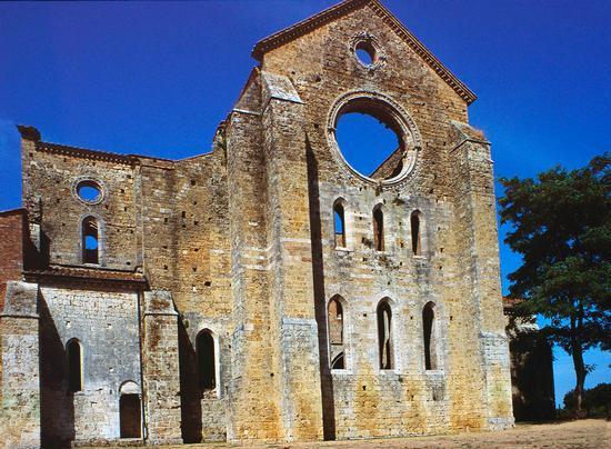 San Galgano, Siena agosto 1998 (1852 clic)