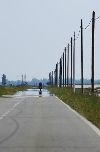 Miraggio tra le risaie, Barengo, Piemonte aprile 2011 (543 clic)