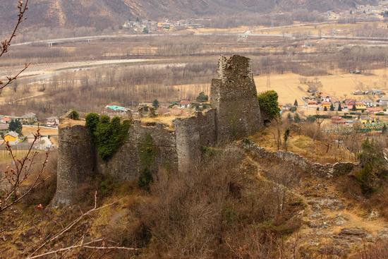 Castello di Vogogna, in frazione Genestredo, Ossola (1399 clic)