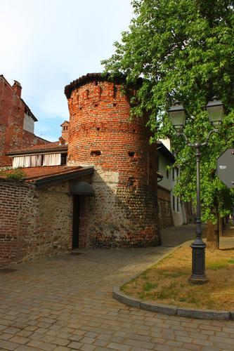 Castello e ricetto di Ghemme, Piemonte aprile 2011 (1900 clic)