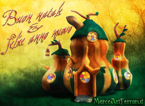 Buon natale e felice anno nuovo! - Arona (1916 clic)
