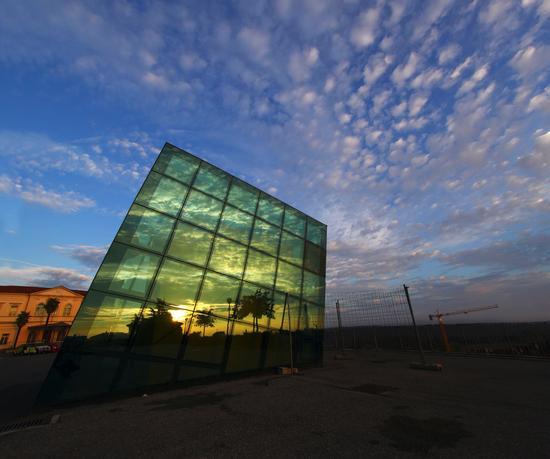 Riflessi al tramonto, Fossano ottobre 2013 - FOSSANO - inserita il 14-Oct-13