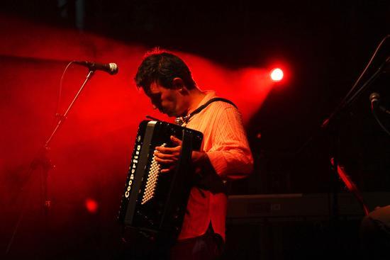 Billa. Davide Van de Sfroos in trio - Arona (1991 clic)
