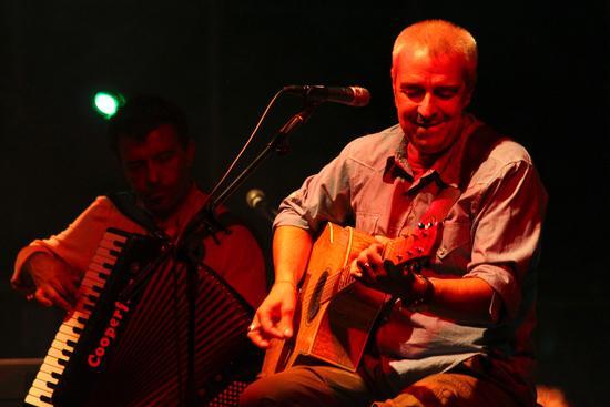 Billa e Davide Van de Sfroos in trio - Arona (2226 clic)