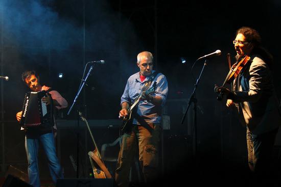 Billa, Davide e Anga, Davide Van de Sfroos in trio - Arona (2027 clic)