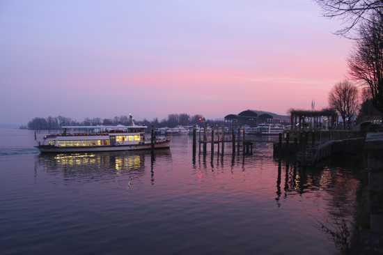 CMYK Imbarcadero al tramonto, Arona Piemonte gennaio 2010 (4434 clic)