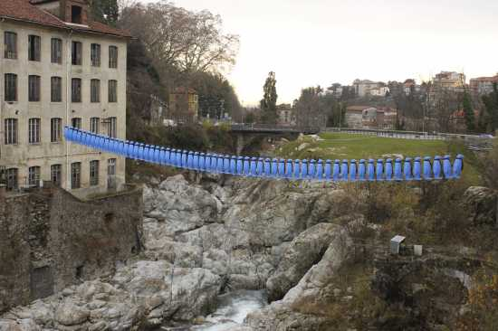 The Blue Penguins' Bridge, 1 - Biella (2591 clic)