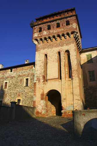 Castello di Vergano, Borgomanero, Piemonte (4043 clic)