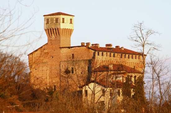 Rocca Viscontea Sforzesca secolo XV, Castello di Briona, vista nord, Novara, Piemonte (2526 clic)