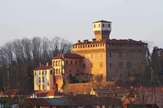 Rocca Viscontea Sforzesca secolo XV, Castello di Briona, vista sud, Novara, Piemonte (4231 clic)