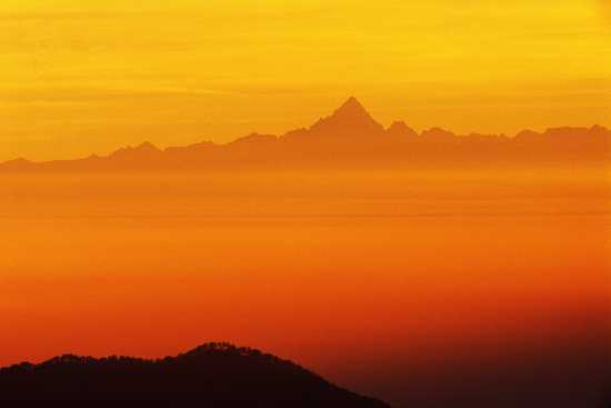 Il Monviso visto dal Mottarone, Piemonte (2746 clic)