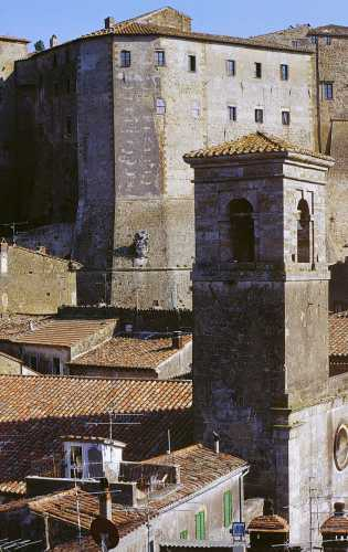Sasso Leopoldino, Sorano, Toscana 2000 (2293 clic)