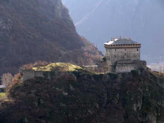 Castello di Verres Valle d'Aosta (6590 clic)