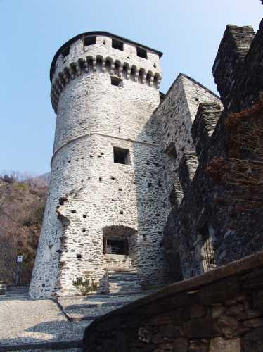 Castello di Vogogna, val d'Ossola, Piemonte (3280 clic)