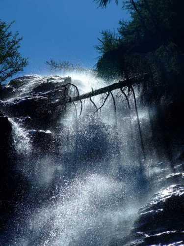 Cascata nei pressi dell'Alpe Culino - Rasura (1859 clic)