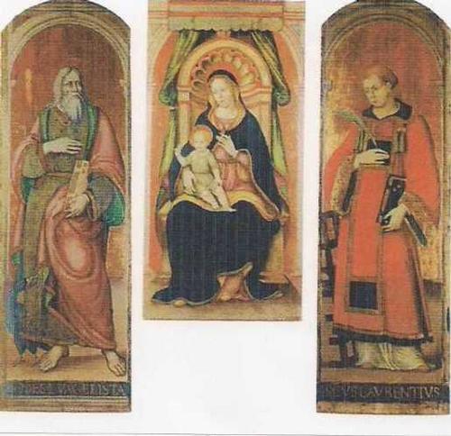 Trittico Centrale nella Chiesa Arcipretale  - Marradi (3508 clic)
