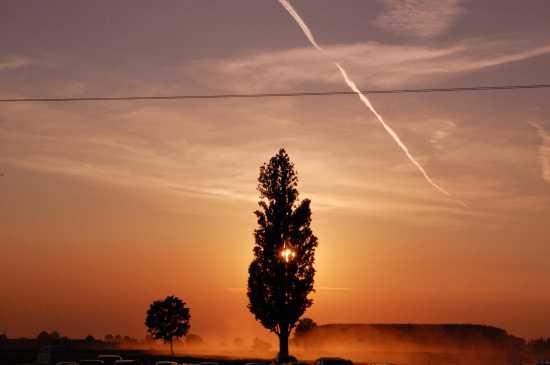 tramonto - Belgioioso (1788 clic)