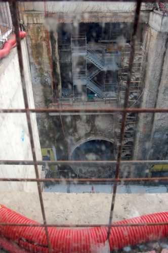 il metro in costruzione - Brescia (1852 clic)
