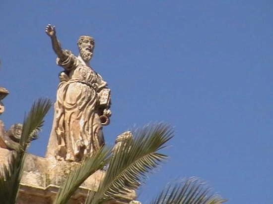 Chiesa Del Carmine Particolare - Scicli (3243 clic)