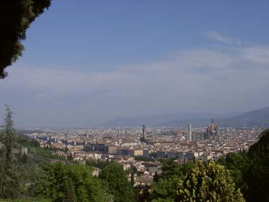 Panoramica di Firenze (1655 clic)