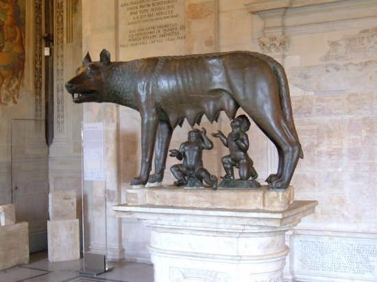 La Lupa Capitolina - Roma (23428 clic)