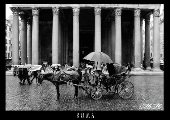 Antichi Splendori Sotto la Pioggia - Roma (3792 clic)