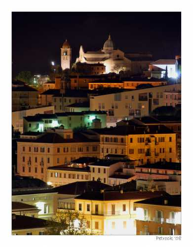 San Ciriaco by night - Ancona (2594 clic)
