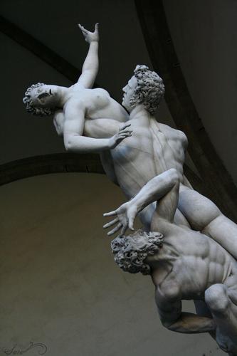 Il ratto delle Sabine. - Firenze (1557 clic)