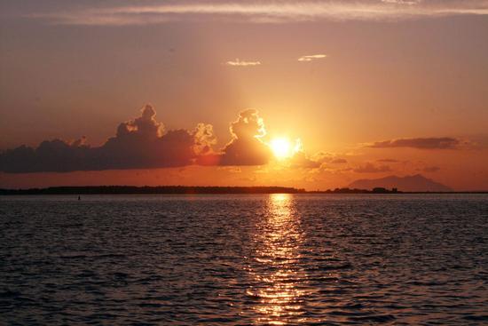 tramonto sul mare - Marsala (1509 clic)