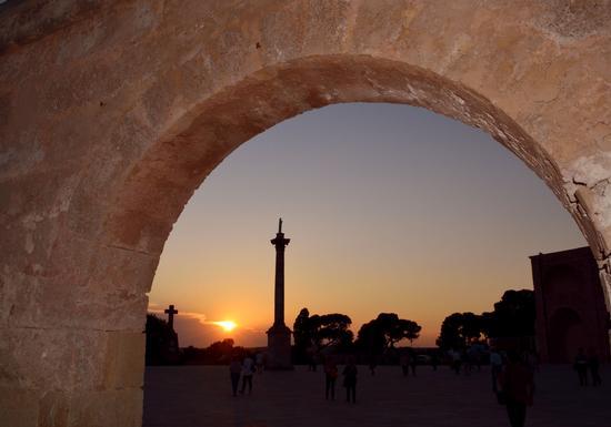 tramonto a Santa MKaria di Leuca - Santa maria di leuca (531 clic)