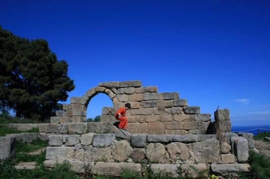 teatro greco - Tindari (3224 clic)