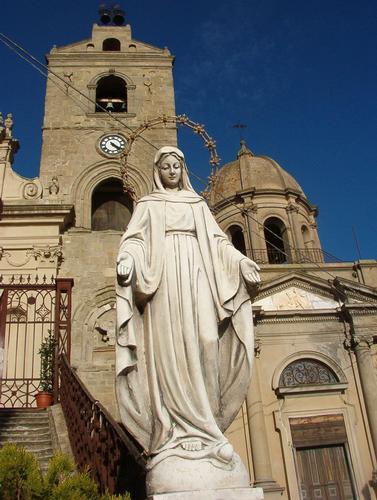 Statua della madonna - Troina (2764 clic)