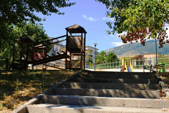 Parco giochi  - San giovanni gemini (2375 clic)