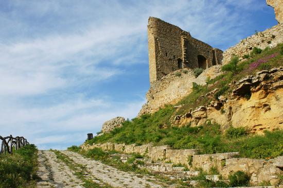Viale al Castello - Mazzarino (3664 clic)
