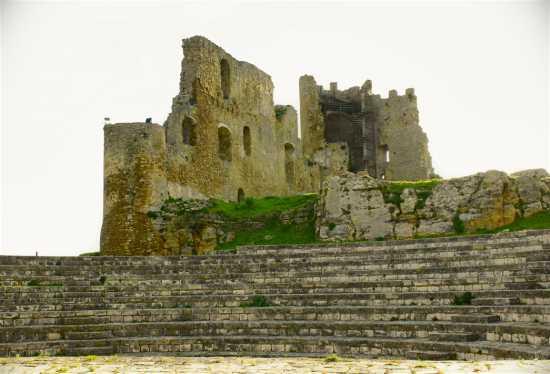 Castello di Mazzqrino visto Dall'Anfiteatro  - Mazzarino (3781 clic)