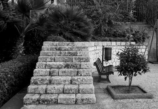 Scorcio della villa La Scala - Riesi (2501 clic)