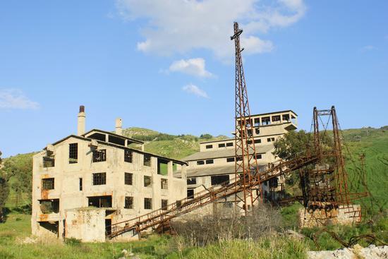 Miniera Trabia Tallarita  - Riesi (4179 clic)