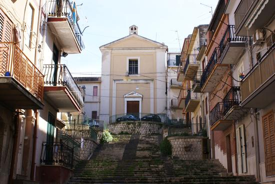 Scalinata chiesa San Giuseppe  - Riesi (4122 clic)